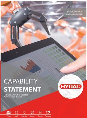 HYDAC Capability Statement