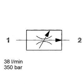 2-Way Flow Regulator, Pressure Compensated - SAE-10, SR10-01