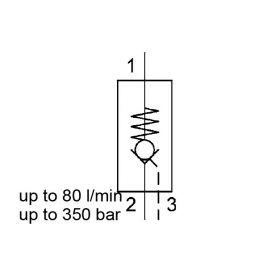 Direct Acting, Poppet Type, Metric Cartridge - RP10121