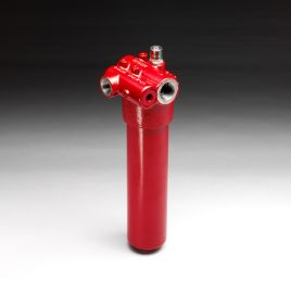 Inline Filter with Differential Pressure Relief Valve - DFM