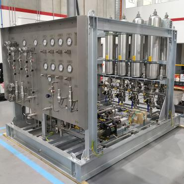 Design and manufacture of a seal water accumulator system for a processing plant in Western Australia