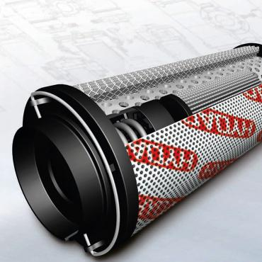 What is hydraulic filter element?