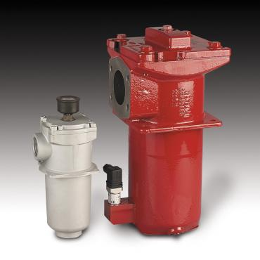 What is hydraulic filter housing?